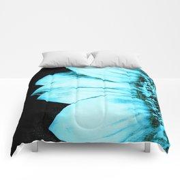 Blue Sunflower Comforters