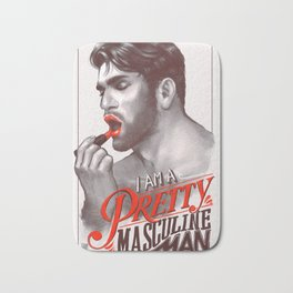 Pretty Masculine Bath Mat