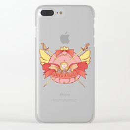 Lover AND A Fighter Clear iPhone Case