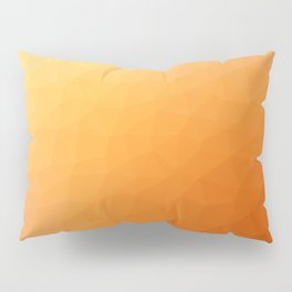 Orange flakes. Copos naranja. Flocons d'orange. Orangenflocken. Оранжевые хлопья. Pillow Sham