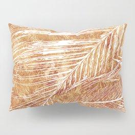 Golden leaves Pillow Sham
