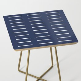 Organic / Navy Side Table