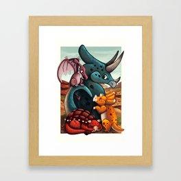 DinoTime Framed Art Print