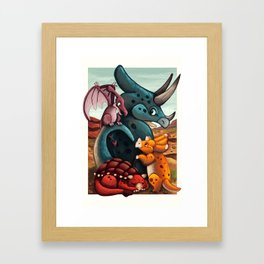 DinoTime Framed Art Print