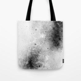 Creeping Black - Abstract black and white Tote Bag