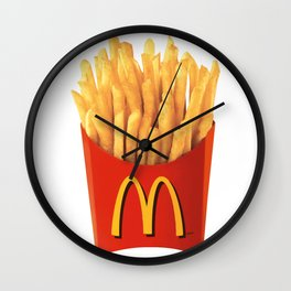 Mc Donalds Fries Wall Clock
