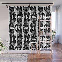 Feral Cat Wall Mural