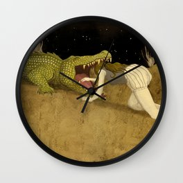 In The Mouth Of Madness Wall Clock