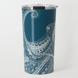 ELILIA Octopus in White Travel Mug