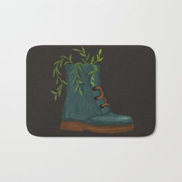 Blooming Boots Bath Mat