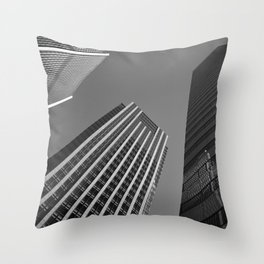 The Tall Three Throw Pillow