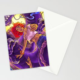 DESTINY  -  dragon & floating couple Stationery Cards