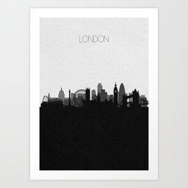 City Skylines: London Art Print