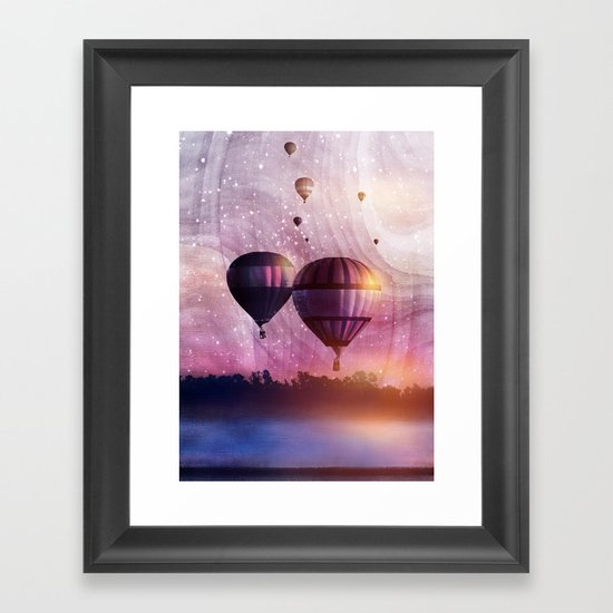 So Far so Close Framed Art Print