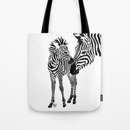 Love Stripes Two Tote Bag