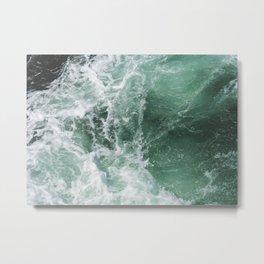Turbulent Waters Metal Print