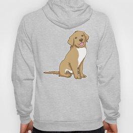 Golden Retriever Puppy Hound Gift Hoody