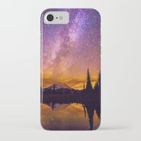 milky way iPhone & iPod Cases featuring Milky Way by EclipseLio