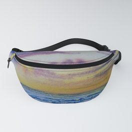 Sunset over the dales Fanny Pack