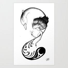 Phone Design 01 Art Print