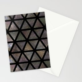 TRIANGLE GALAXY REPETITION Stationery Cards