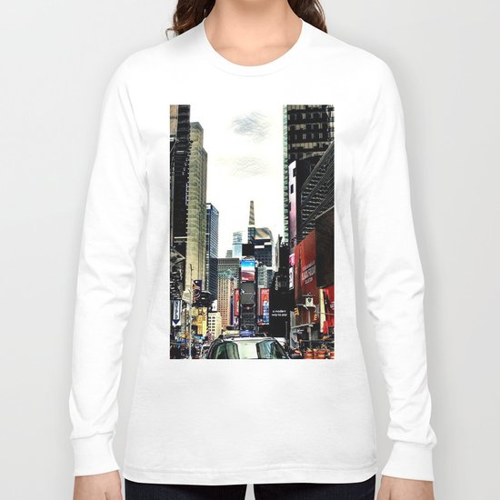 Downtown New York City Long Sleeve T-shirt