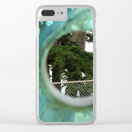 A Limited Point of View Clear iPhone Case