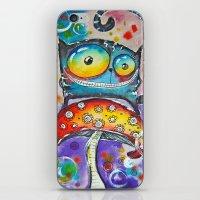 mushroom iPhone & iPod Skins featuring mushroom  by Katja Main