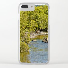 Beautiful river view Clear iPhone Case