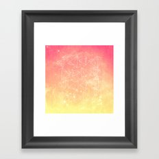 A heart is made of ... wishes Framed Art Print