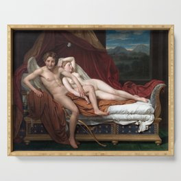 Jacques-Louis David Cupid and Psyche Serving Tray