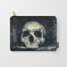 Old Skull - Memento Halloween Carry-All Pouch