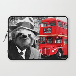 Sloth in London Laptop Sleeve