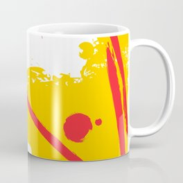 Yellow fantasy Coffee Mug