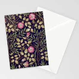 William Morris Sweet Briar Floral Art Nouveau Stationery Cards