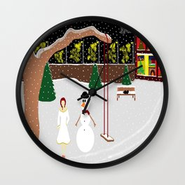 The Snowman Wall Clock