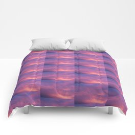 Peach & Violet Blaze Comforters