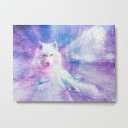 Majestic Wolf Metal Print