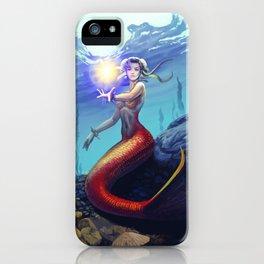 Mermaid Chun Li iPhone Case