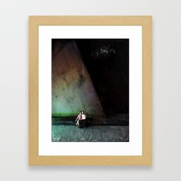 House Disaster Art -  Untitled Framed Art Print