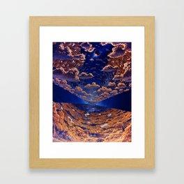 Interior View, O'Neill Island III, Eclipse Framed Art Print
