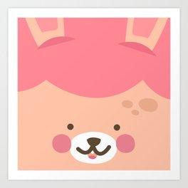 Bunny Smile Art Print