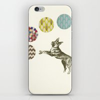 games iPhone & iPod Skins featuring Ball Games by Cassia Beck