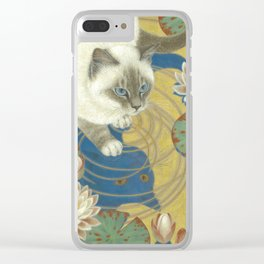 Blue bird Clear iPhone Case