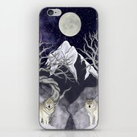 guardians iPhone & iPod Skins featuring Guardians by Yoly B. / Faythsrequiem