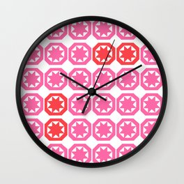 The Red Ones Wall Clock