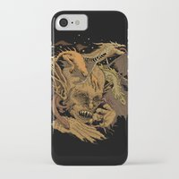 demon iPhone & iPod Cases featuring Demon by Gregery Miller