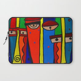 Facebook Profiles Laptop Sleeve