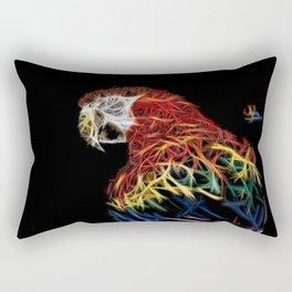 Parrot abstracto Rectangular Pillow