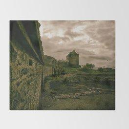 Eilean Donan Castle, Kyle of Lochalsh, Scotland Throw Blanket